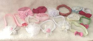Baby Girl Toddler Headbands for Sale in Downey, CA