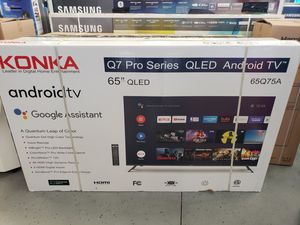 """Konka 65"""" Smart 4K UHD HDR Android TV for Sale in Rancho Cucamonga, CA"""