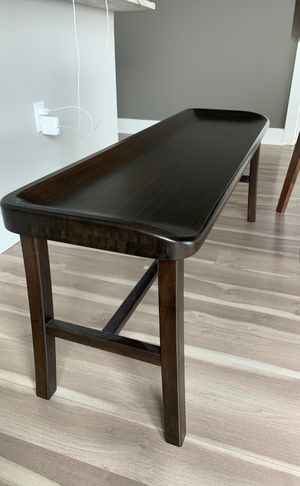 Tulip Solid Wood Bench for Sale in Bethesda, MD
