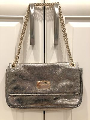 Michael Kors silver clutch for Sale in Downers Grove, IL