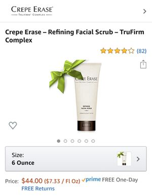 Crepe Erase - Refining facial scrub for Sale in Gaithersburg, MD