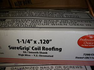 Roofing nail for Sale in Durham, NC