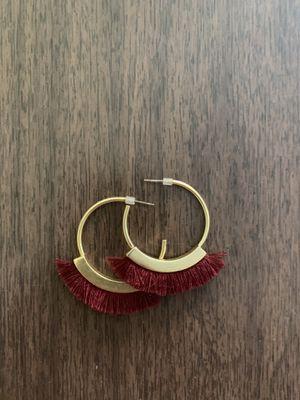 Madewell earrings - cute hoops!! for Sale in Seattle, WA