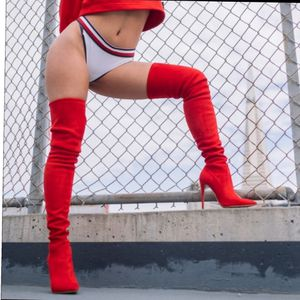 Last pairs Just in! Red Boots over knee for Sale in Ontario, CA