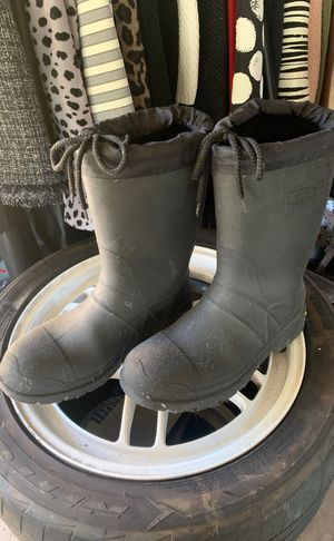 Rubber work boots for Sale in Garland, TX