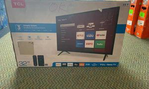 """Brand New TCL ROKU TV 32"""" open box w/ warranty ZE for Sale in Fort Worth, TX"""