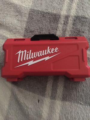Milwaukee drill bits for Sale in Keizer, OR