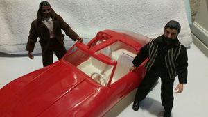 This a custom Action Jackson figures with a corvette all from the 70's for Sale in Willow Grove, PA