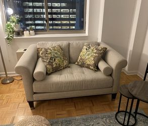 Gray Loveseat Couch for Sale in New York,  NY