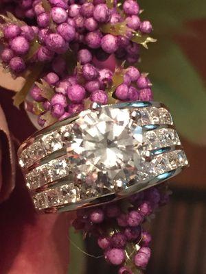 18k White GF Wedding Ring Size 9 for Sale in Nashville, TN