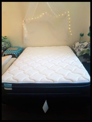 QUEEN BED + FRAME for Sale in Philadelphia, PA