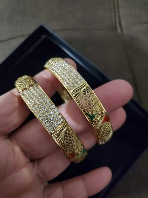 Plated set of 2 bangle bracelet for Sale in Baltimore, MD