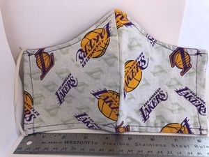 Lakers face mask new never used handmade 100% cotton for Sale in CTY OF CMMRCE, CA
