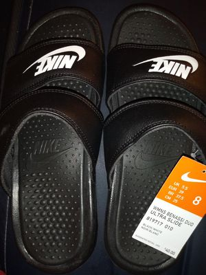 Nike duo benassi slides for women 8 for Sale in Grand Prairie, TX