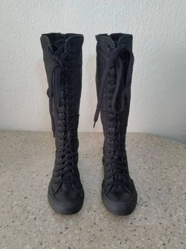 dece92d86fdc Converse Knee High Tall Women s 7 for Sale in Moreno Valley