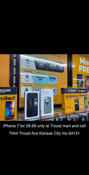 iPhone 7 for $29.99 for Sale in Kansas City, MO