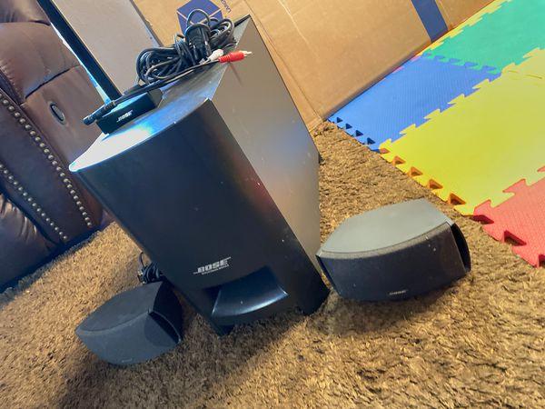 Bose speaker and subwoofer