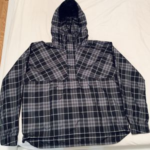 Burberry Hooded Windbreaker Jacket Blue New Exclusive - Packable, Winter/Spring, Men's Casual for Sale in Brooklyn, NY