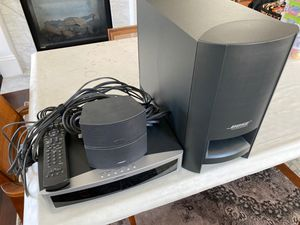 BOSE DVD/Stereo/radio with 2 speakers and bass subwoofer for Sale in Cambridge, MA