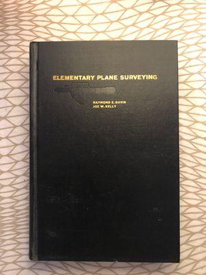 Elementary Plane Surveying by Raymond Davis & Joe Kelly (Rare, Fourth Edition) for Sale in Los Angeles, CA