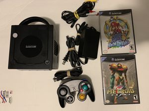nintendo game cube +super mario sunshine +metroid prime+mario party 4 for Sale in East Haven, CT