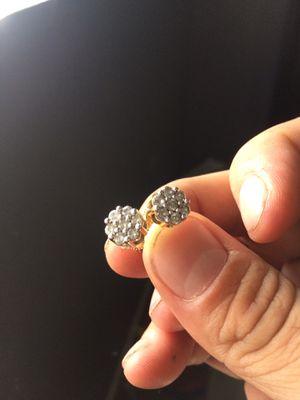 Real diamond earrings $500 for Sale in Whittier, CA
