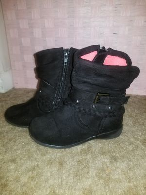 Toddler Girl Boots. Black for Sale in Statesville, NC