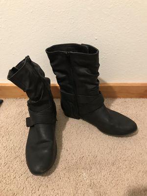 Aldo 7.5 black boots for Sale in Lynnwood, WA