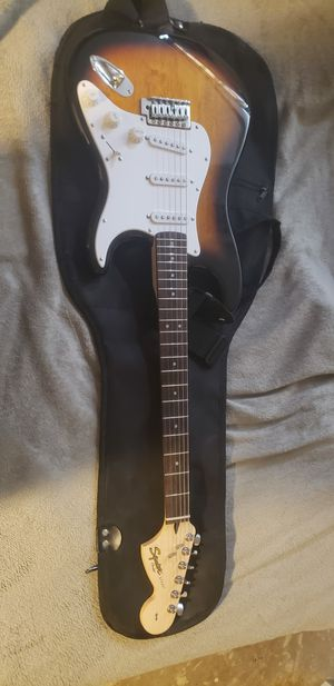 Fender Squire Strat and 10G amp for Sale in Denver, CO