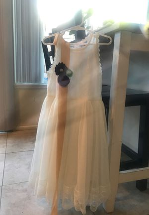 Flower girl dress for Sale in Mission Viejo, CA