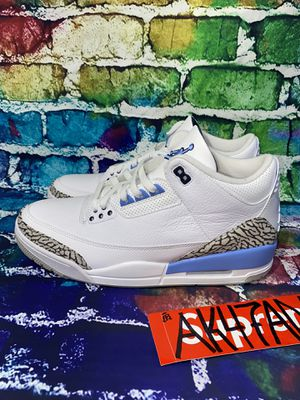 Jordan 3 Retro UNC (2020) (size12) for Sale in Bellevue, WA