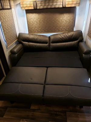 Furniture RV/Camper Trifold Sofa Bed 72 inches Thomas Payne Brand 600.00 for Sale in Decatur, GA