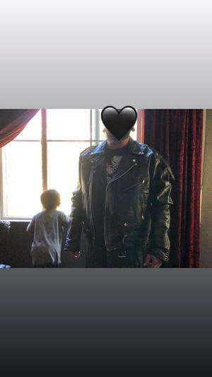 Biker leather jacket for Sale in Fontana, CA