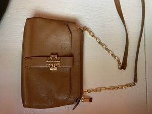 Brown leather Tory Burch crossbody for Sale in Baltimore, MD