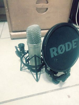 Rode microphone for Sale in Modesto, CA