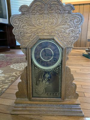 100-120 Year Old Vintage Clock MUST SELL for Sale in Chicago, IL