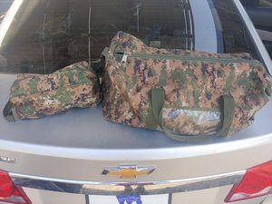 Usmc hygiene and duffle bag for Sale in Chandler, AZ