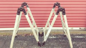 12 ft Adjustable Aluminum Ladder for Sale in Taunton, MA