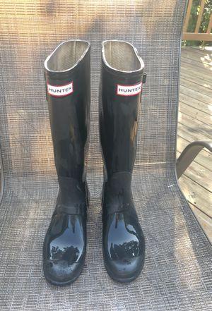 Hunter Men Black Rain Boot for Sale in Alexandria, VA