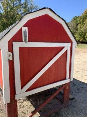 Red chicken coop for Sale in Foster, RI