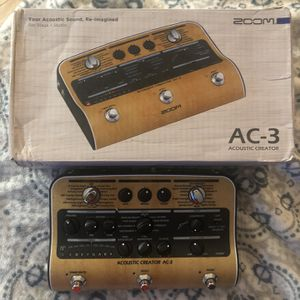 Acoustic Electric Pedal Zoom AC3 for Sale in Boca Raton, FL