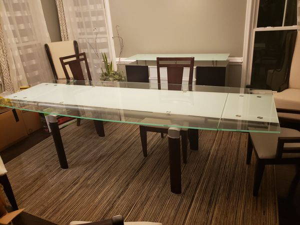 Expandable Kitchen Table and Buffet