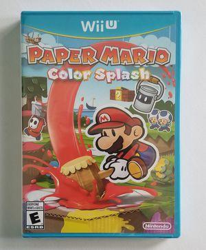 Paper Mario Color Splash - NEW for Sale in Las Vegas, NV