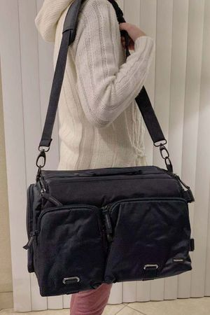 New in box cross body Navy or Dark Red Professional SLR Camera Bag cushioned for Sale in Whittier, CA