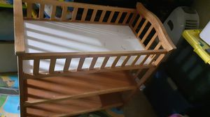 Wooden changing table for Sale in Glendale, AZ