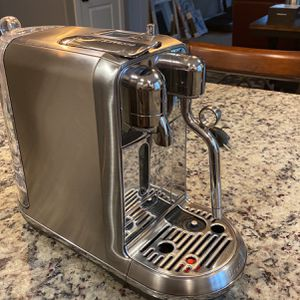 Nespresso Creatista Plus Espresso Machine By Breville (stainless Steel With Frother) for Sale in Ridgefield, WA