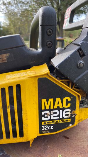 16 in McCulloch chainsaw for Sale in McLoud, OK