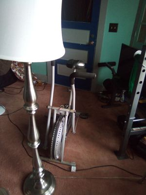 Pair of sliver lamps for Sale in Hannibal, MO