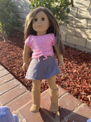 American girl doll with accessories for Sale in Orange, CA