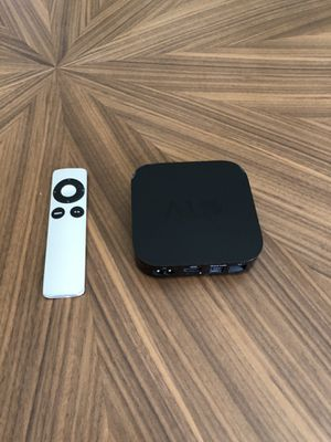 Apple TV + Remote - 3rd generation for Sale in Irvine, CA